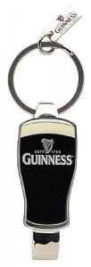 Guinness Pint Glass bottle opener keyring (sg 8529)